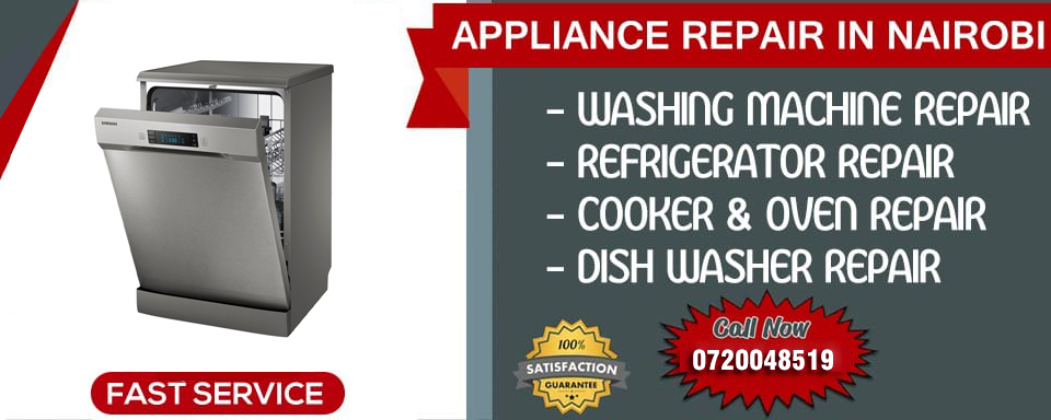 Dishwasher repair in Nairobi