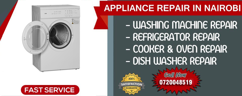 Washing machine and dryer repairs